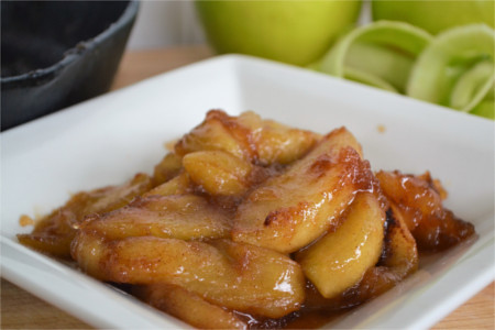Southern Fried-Cinnamon Apples-5