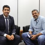 Reunião com Sr Volmir da Candangolândia