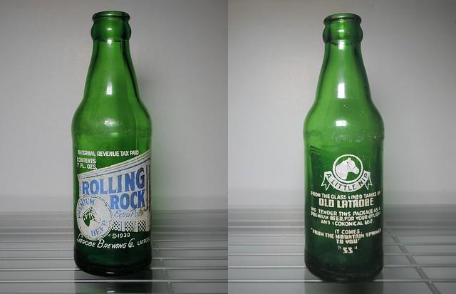 1942 Rolling Rock Pony Bottle