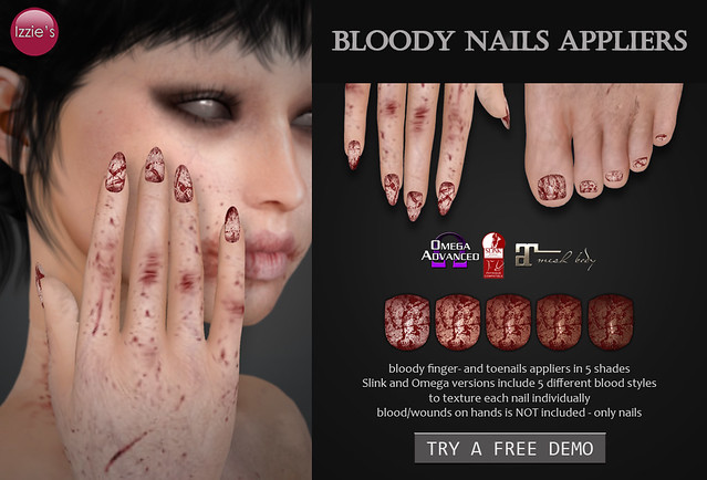 Bloody Nails Appliers (for FLF)