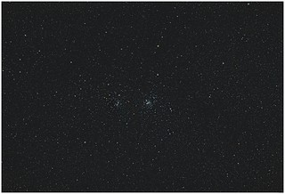 Double Cluster Perseus, test