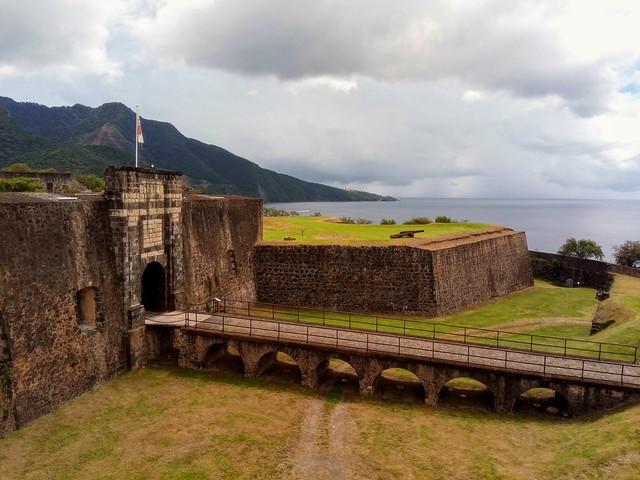 Fort Delgres, Guadeloupe