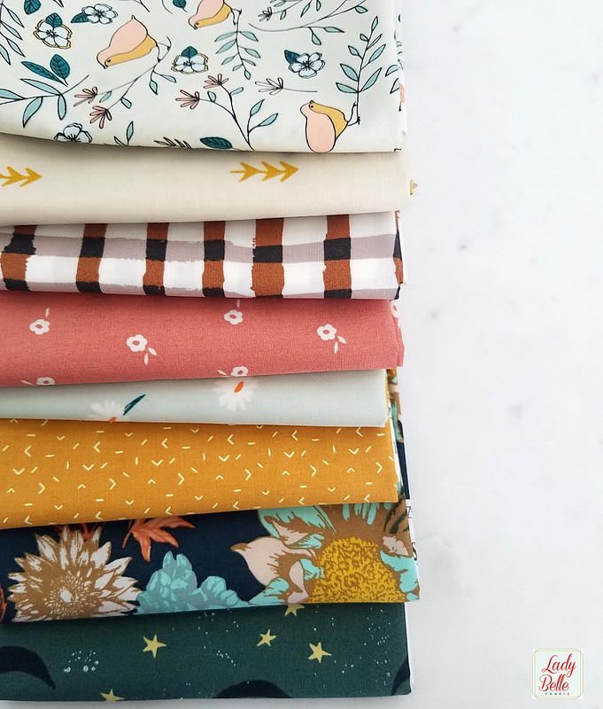 Autumn Feels Bundle GIVEAWAY with Lady Belle Fabric