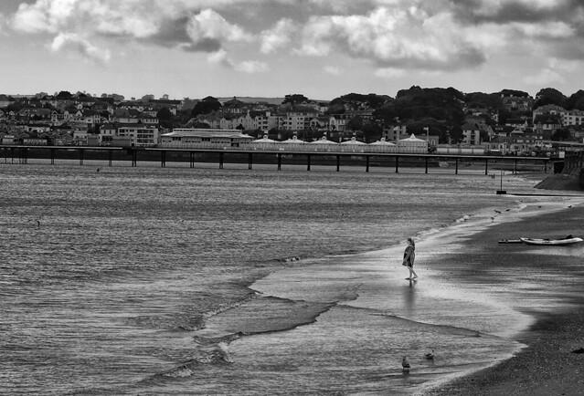 Brixham beach