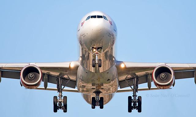 G-VNAP - Airbus A340-642 - LHR