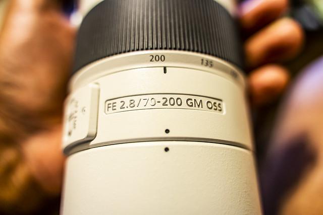 Sony FE 70-200mm f/2.8 G Master OSS