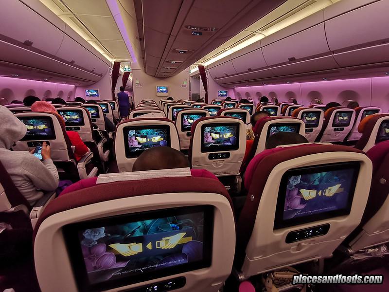 thai airways in flight