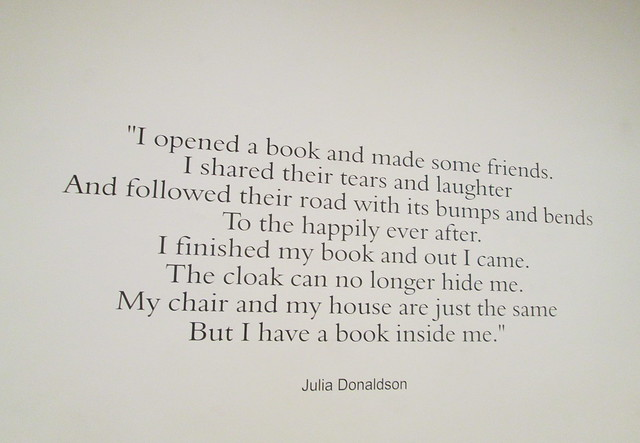 Books quote, Tall Tales, Dunfermline