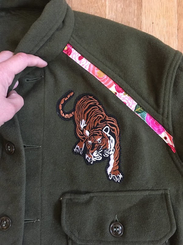 Gucci-esque Embroidered Jacket