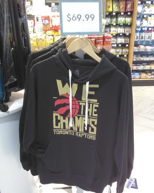 We The Champs sweatshirt, $C 69.99 #toronto #mississauga #torontopearson #torontoraptors #wethenorth #wethechamps #clothing #sweatshirt