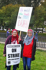 Chicago Teachers Are on Strike!