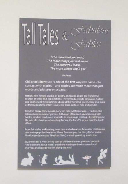 Tall Tales, Dunfermline, Fife