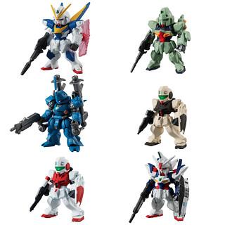 《機動戰士鋼彈》FW GUNDAM CONVERGE #18 第十八彈 「V2鋼彈」、「鋼普拉斯達」、「雙子座鋼彈01」等人氣機體登場!