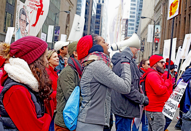 Chicago Teachers Are on Strike!