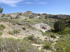 exploring near the concretions