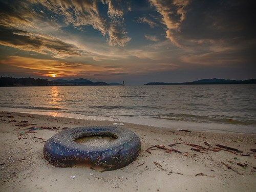 sunset sundown beach coast seascape shoreline lumut perak malaysia travel place trip canon eos700d canoneos700d sigma sigmalens 10mm20mm wideangle