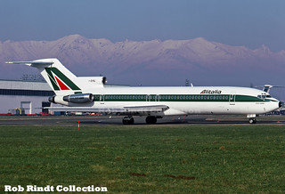 Alitalia B727-243/Advanced I-DIRU