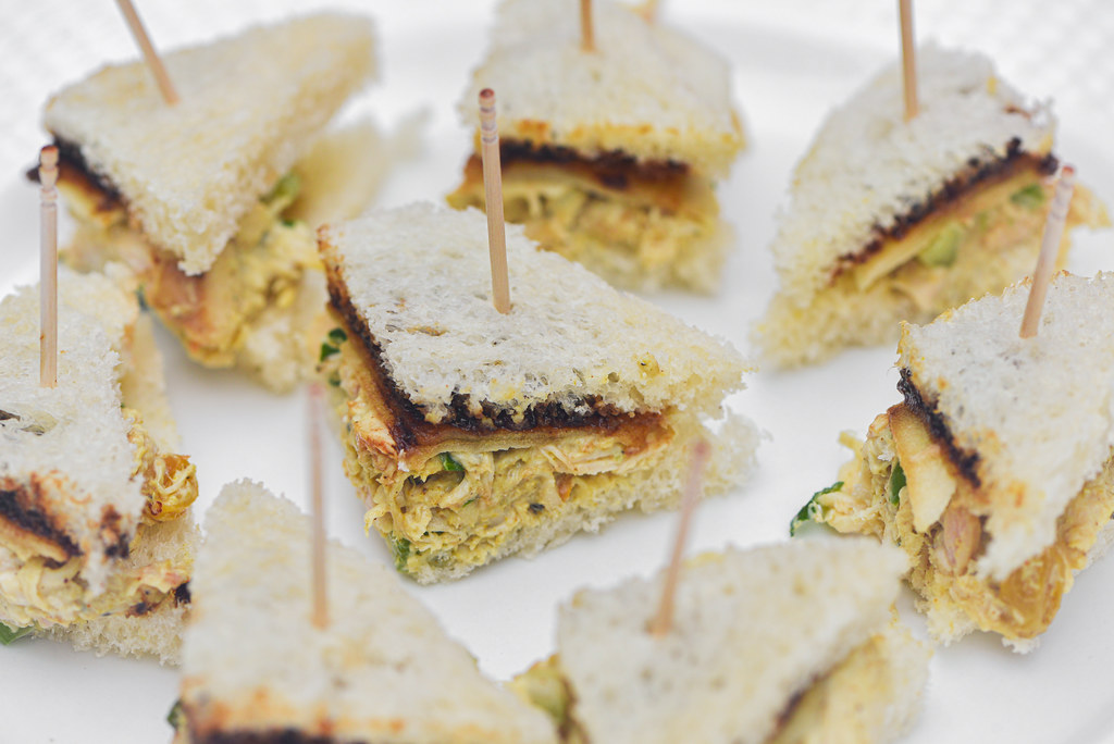 Smoked Curried Chicken Salad Sandwiches