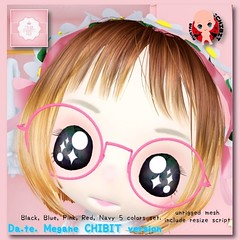 !cream spaghetti hair! Da.te. Megane -CHIBIT- AD