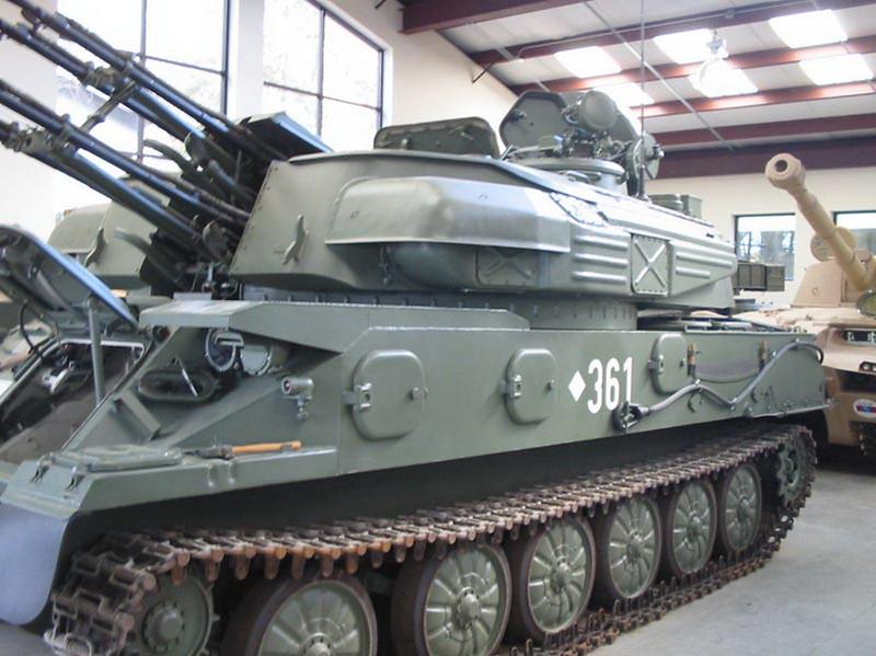 ZSU-23-4 Shilka 6