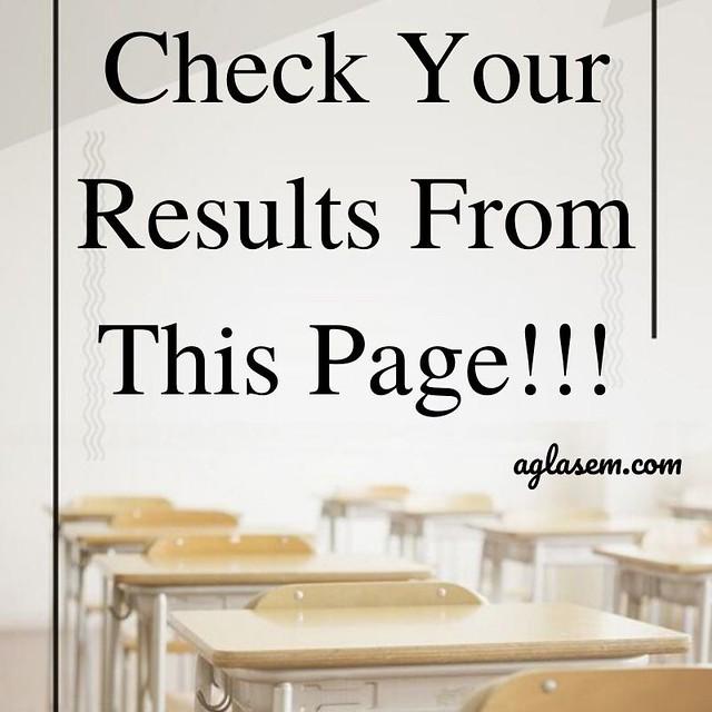 PSEB 12th Result October 2019
