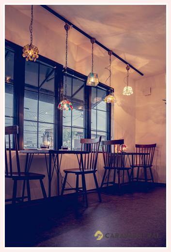 ニジイロランプ ランプを眺めながらお茶タイム