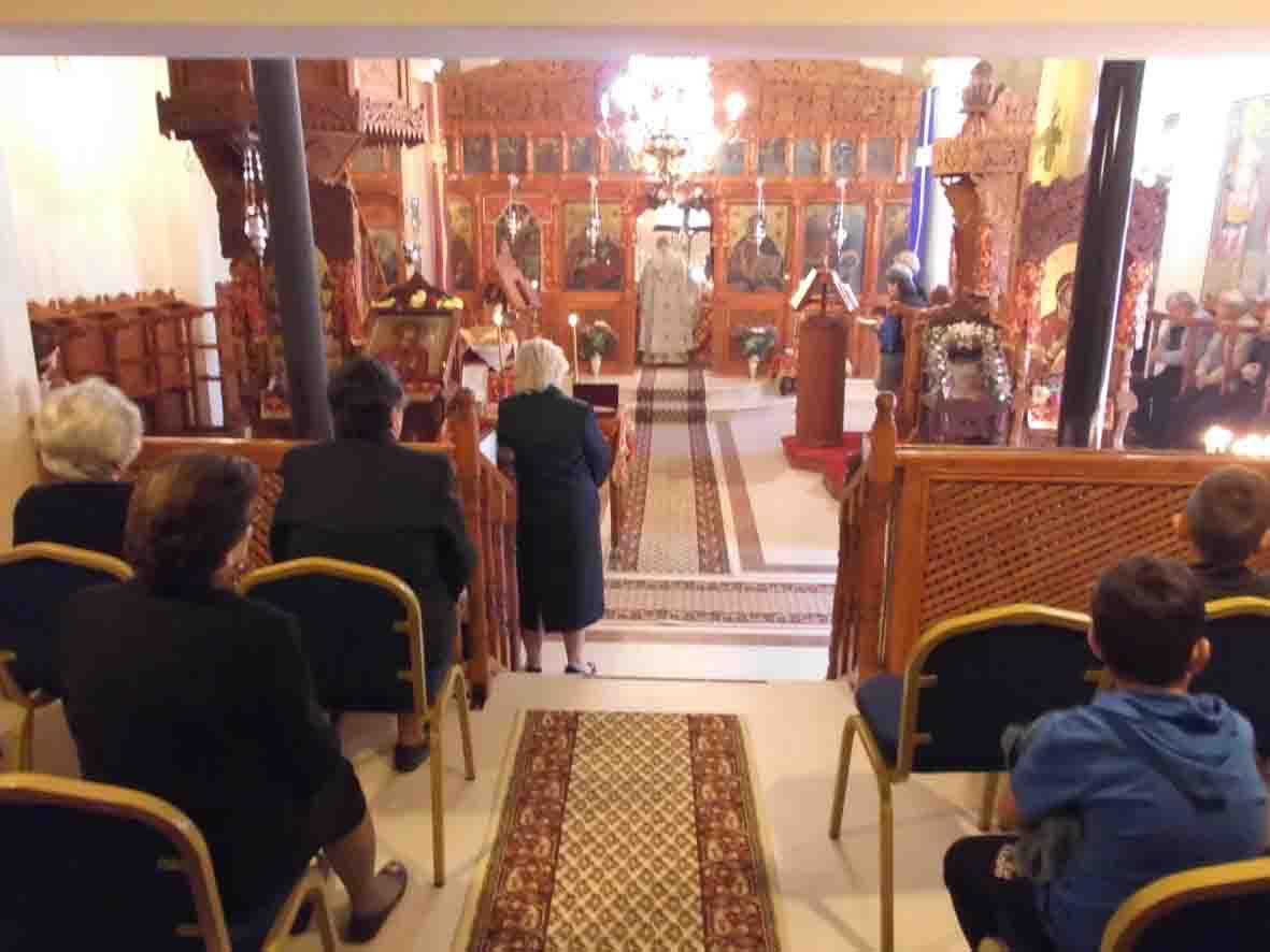 Εκκλησιασμός στο Κρανοχώρι