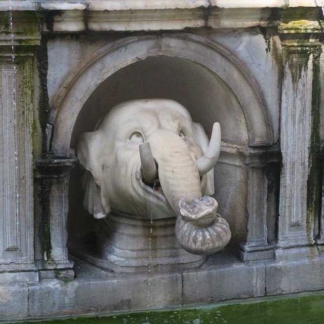 Fontana Pretoria - Eléphant