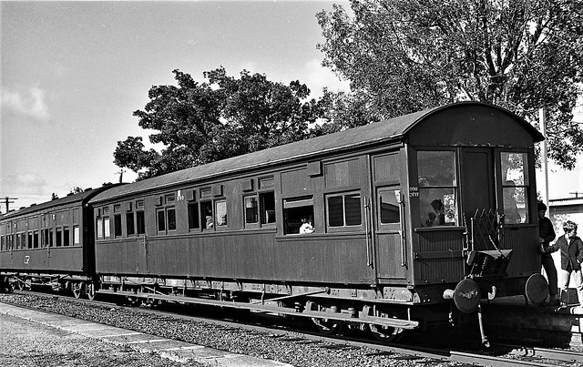 EWT3 was originally 990 , here it is on an ARHS excursion on 25 May, 1974.