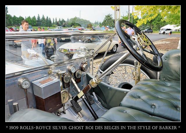 1909 Rolls-Royce Silver Ghost Roi Des Belges