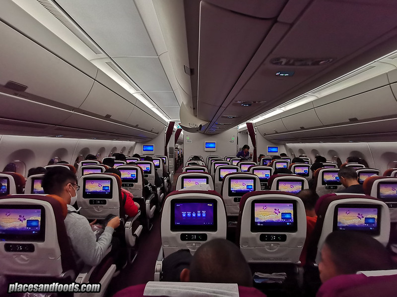 thai airways cabin