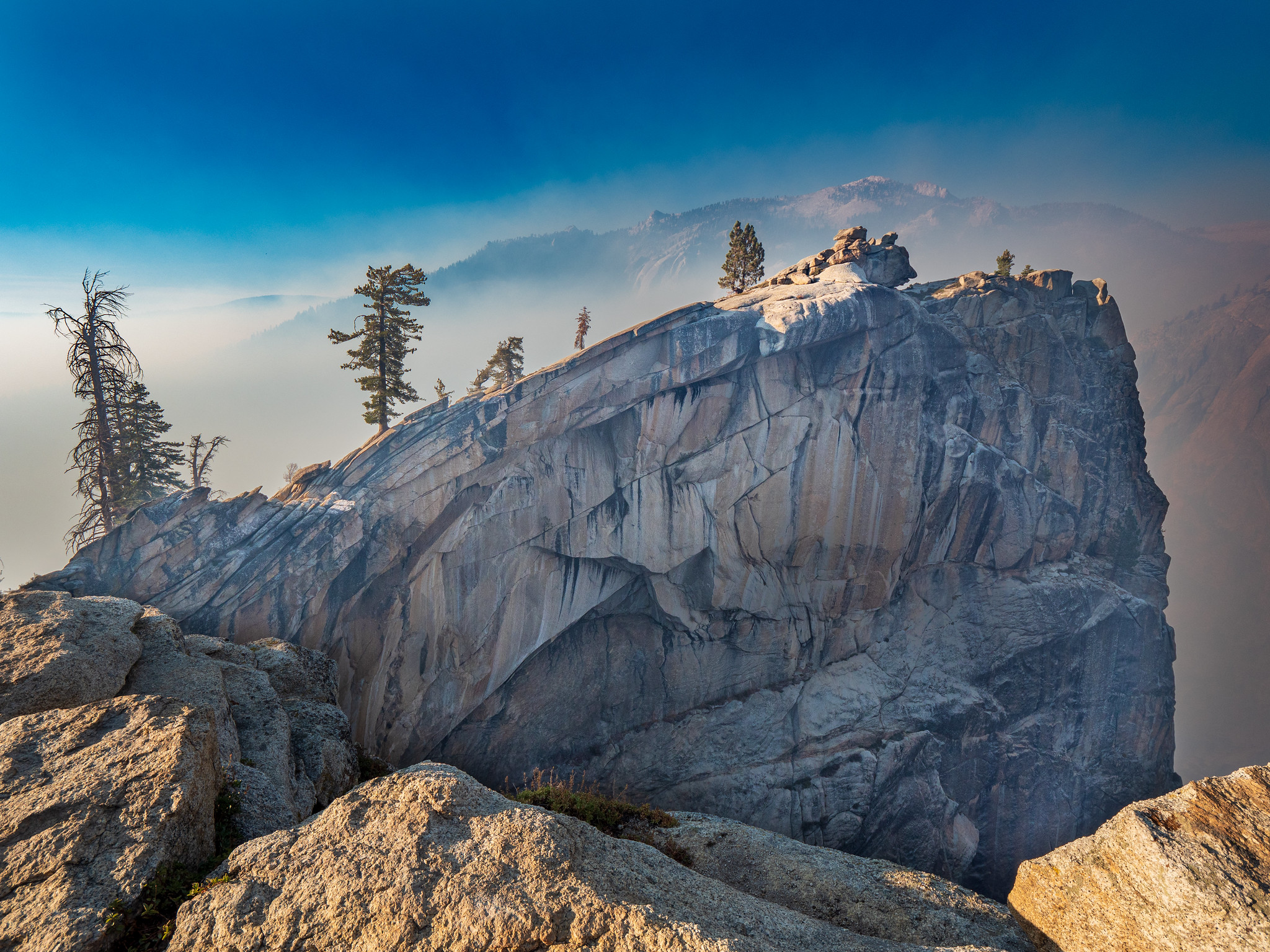 Smokey Watchtower, in Sequoia National Park