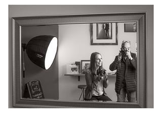 Portrait of a photographer / Rostock