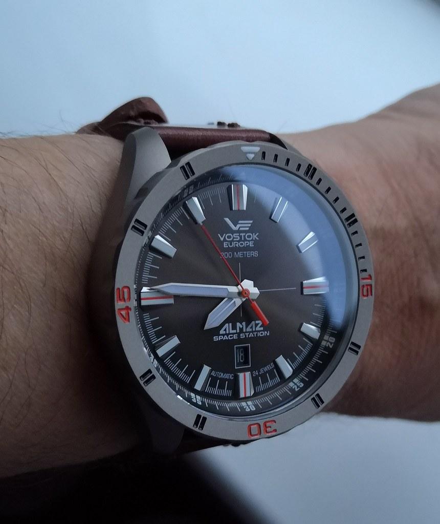 Vostok Europe Almaz Titanium Case  (Cal NH35)
