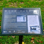 Moor Park information board
