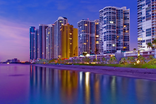 City of Sunny Isles Beach, Miami-Dade County, Florida, USA