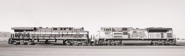 KCS & UPRR Nose To Nose