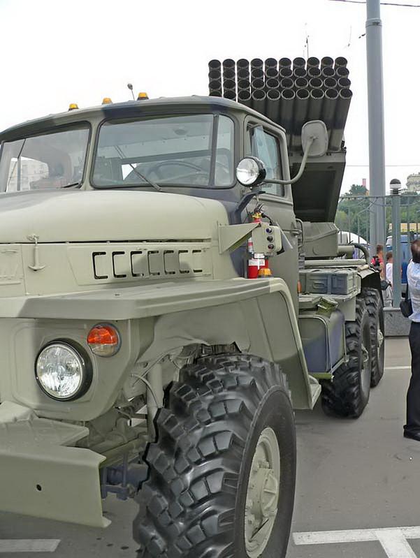 BM-21 Grad on URAL 4320 7