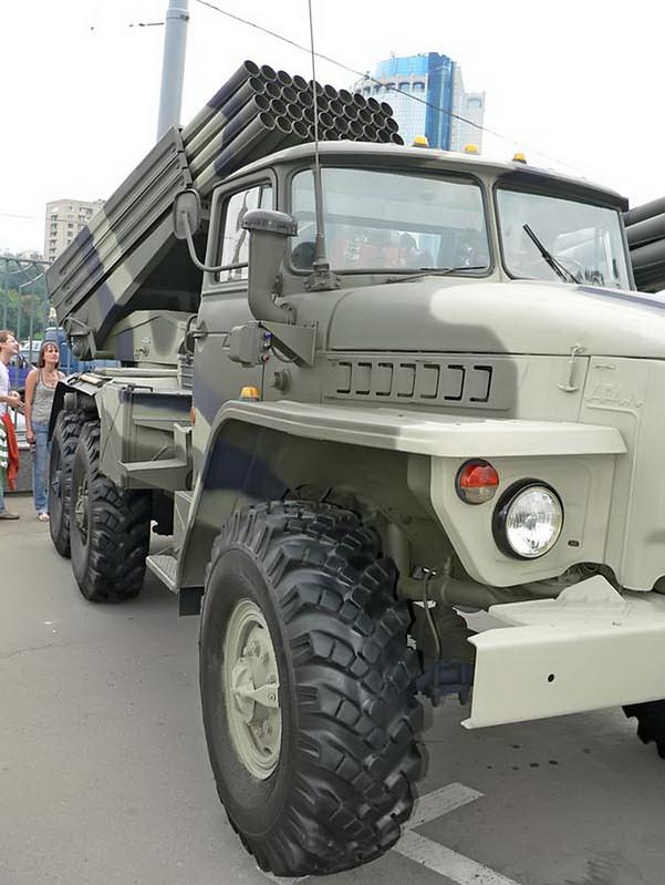 BM-21 Grad on URAL 4320 6