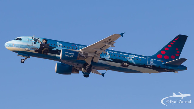 TLV - Brussels Airlines Airbus A320 OO-SNC