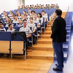 Qui, 17/10/2019 - 13:33 - O Politécnico de Lisboa, em parceria com o Centro Nacional de Cibersegurança realizam, durante o mês de outubro, um conjunto de ações de sensibilização e treino em cibersegurança, dirigido a estudantes do ensino secundário. A primeira ação decorreu no Instituto dos Pupilos do Exército, no dia 17 de outubro de 2019.