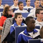 Qui, 17/10/2019 - 13:27 - O Politécnico de Lisboa, em parceria com o Centro Nacional de Cibersegurança realizam, durante o mês de outubro, um conjunto de ações de sensibilização e treino em cibersegurança, dirigido a estudantes do ensino secundário. A primeira ação decorreu no Instituto dos Pupilos do Exército, no dia 17 de outubro de 2019.