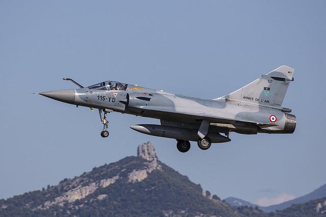 107 (115-YD), AMD Mirage 2000C Armee de l´Air @ Orange-Caritat LFMO