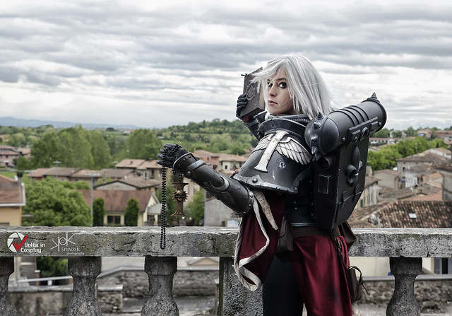 Piece of Cake Cosplay as Sister of Battle from Warhammer 40K, by SpirosK photography (ch.3: preaching)