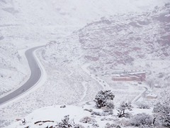 Arches NP Entrance Closed