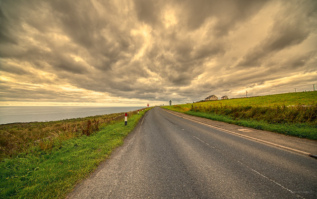 Cloud road near Latheronwheel.