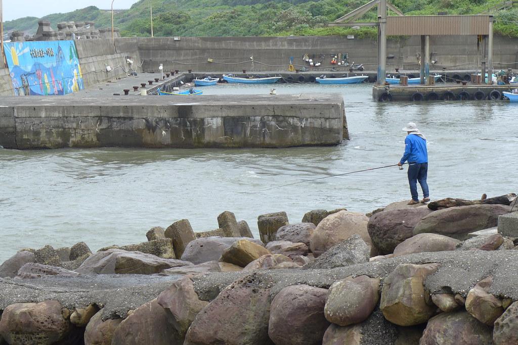 目前的卯澳漁港只有停泊十來艘小型漁船,多是當地居民所有。孫文臨攝