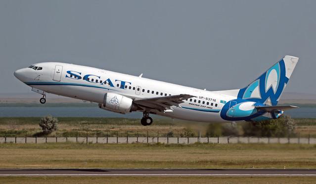 UP-B3718 UAAA 15-07-2019 Scat Air Company Boeing 737-3U3 CN 28742