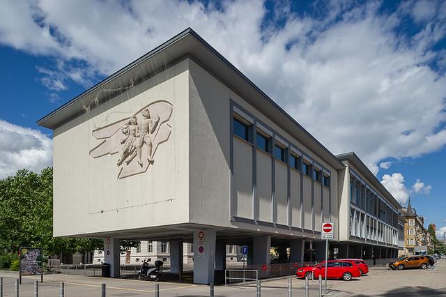 immeuble de bureaux, Neuchâtel