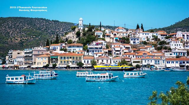 VACATION, GREEK ISLANDS & THE PELOPONNESE, JULY-AUG. 2019 #5837A ΔΙΑΚΟΠΕΣ ΙΟΥΛΙΟΣ-ΑΥΓ. 2019